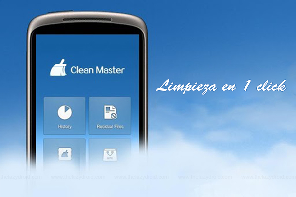 clean master limpiar android 1 click