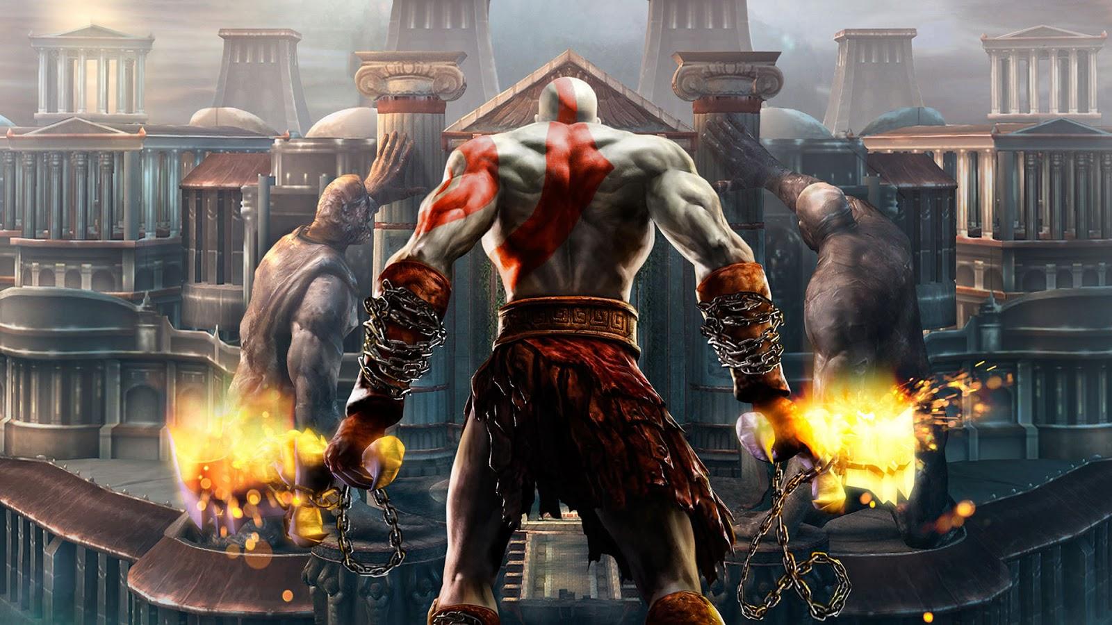 God of War 2 HD Game