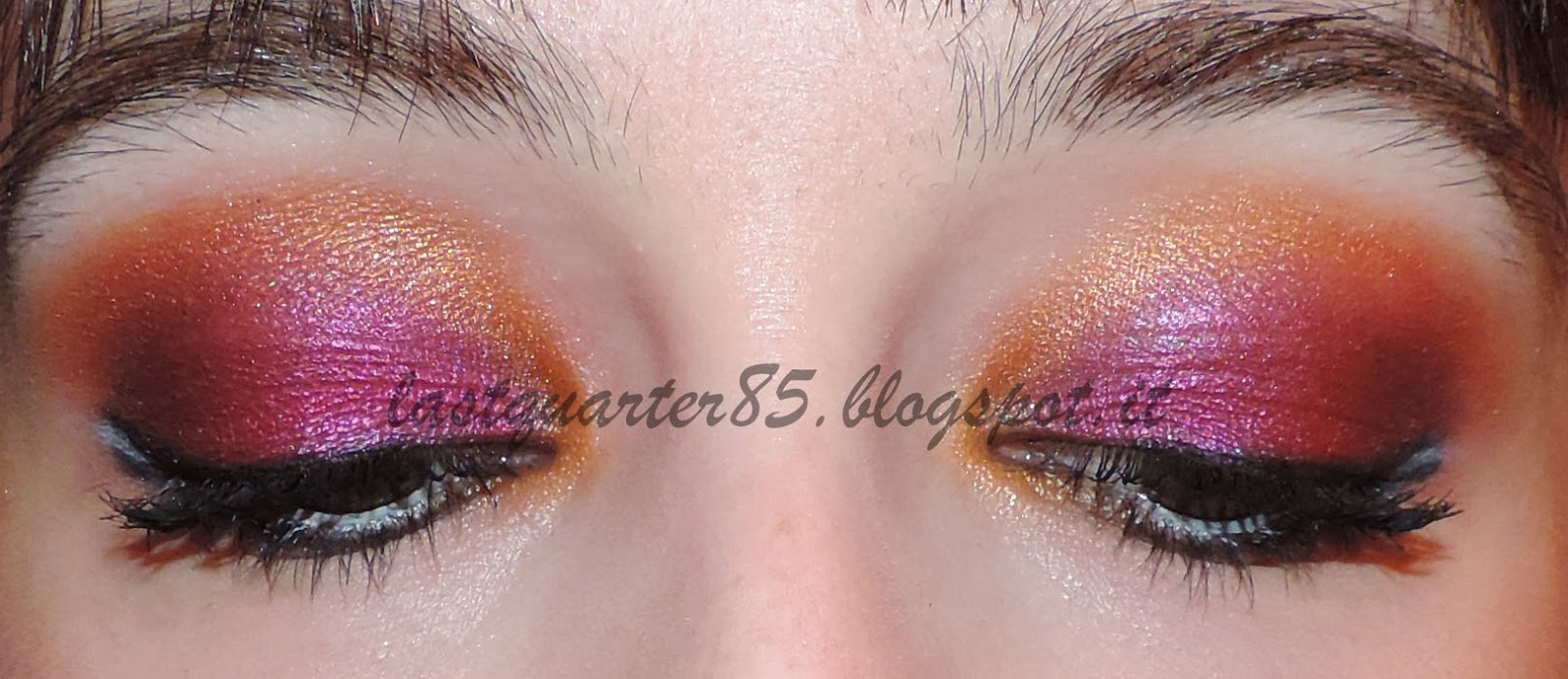 Make up occhi Hunger Games Catching Fire (La Ragazza di Fuoco) inspired!