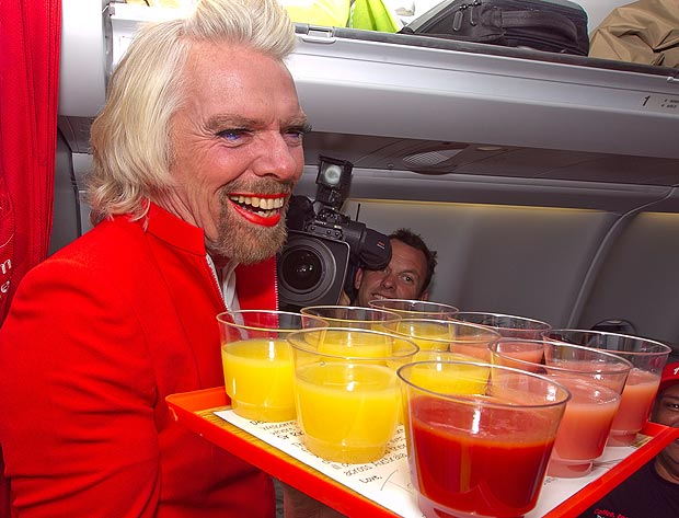 bombastic - Stewardess Richard Branson