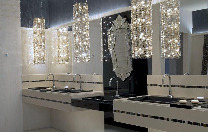 decoracao banheiro pequeno preto e branco : decoracao banheiro pequeno preto e branco:S³ ARQUITETURA E PLANEJAMENTO: Decoração: banheiros