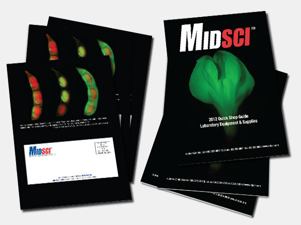 Midsci QSG 2012 Flyer Print Design Catalog Alice Graphix AliceGraphix