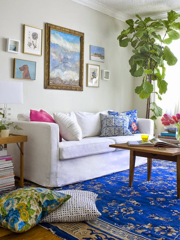 Boho Living Room Decoration