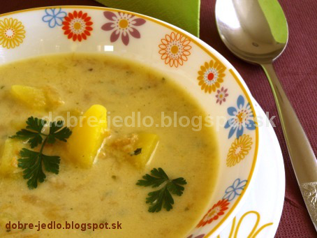 Zelerová polievka so zemiakmi - recepty