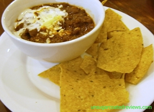 Mexicali Restaurant chili cup