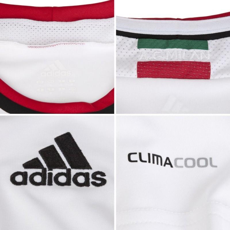 Jersey Bola AC Milan Away Putih 2012-2013