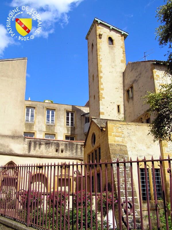 METZ (57) - Maison de Rabelais et Chapelle Saint-Genest