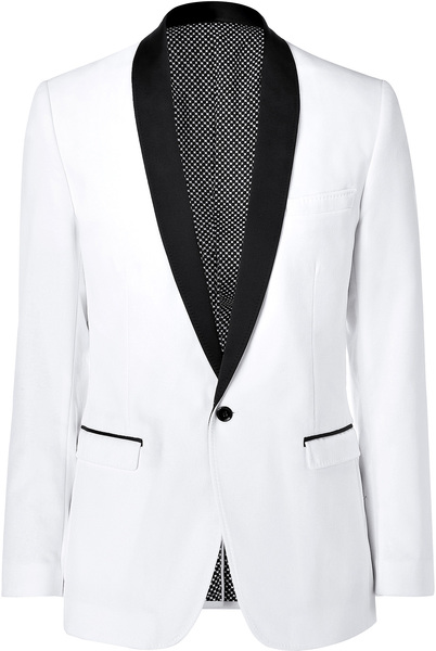 White And Black Blazer Photo Album - Reikian