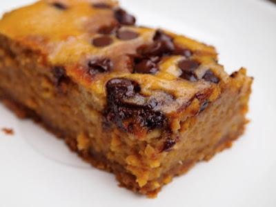 Pumpkin Pie Dessert Bars #healthypumpkinbars
