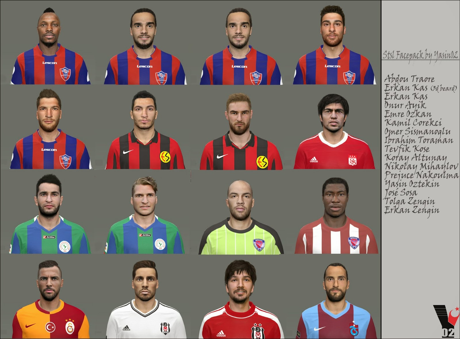 PES 2015 Stsl Facepack by Yasin02