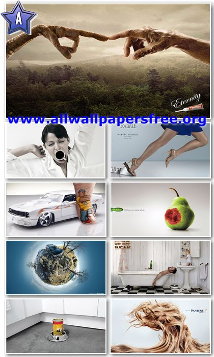80 Amazing Creative Advertising Wallpapers 1366 X 768 [Set 2]