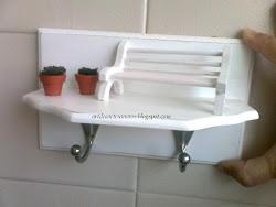 Pendurador de toalhas