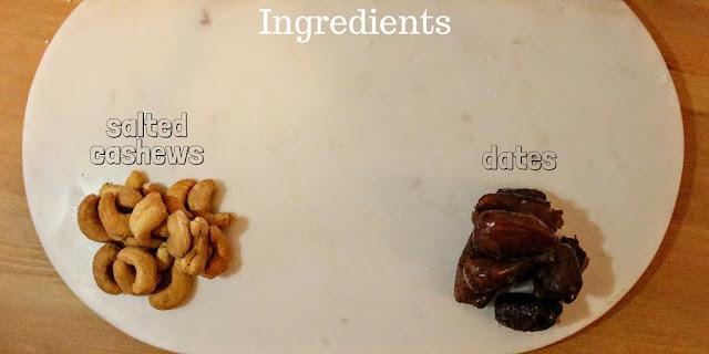 Two Ingredient Energy Bites