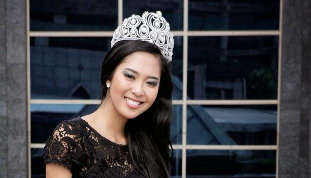 Membanggakan: Maria Rahajeng Masuk 25 Besar Miss World 2014