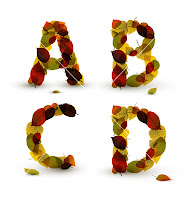 Autumn Alphabet Letters1
