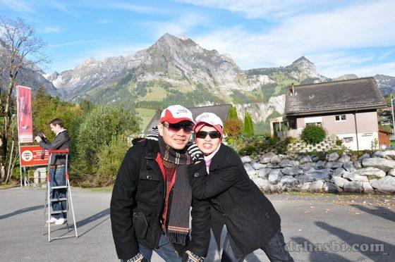 Melancong bersama Adibah ke Mount Titlis Switzerland bersama SHOM