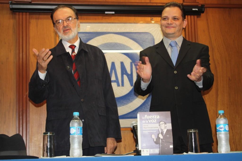 Lic Jose Antonio Estrada Sàmano y Lic Hèctor Gómez Trujillo