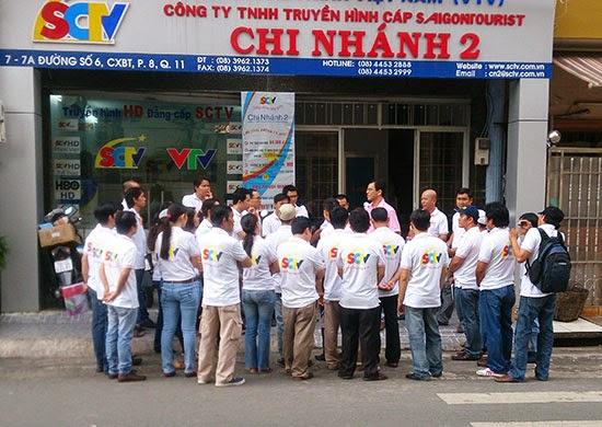 SCTV đồng loạt ra quân tiếp thị trực tiếp khu vực TPHCM