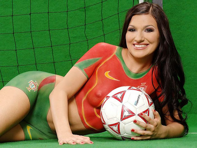 body paint art gallery in the world cup as well dragon