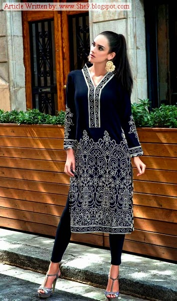 Gul Ahmed Single Print Winter-Fall Dresses