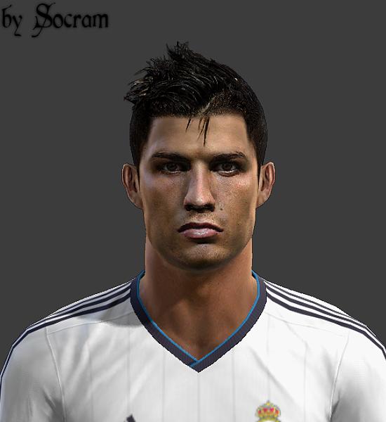 Cristiano Ronaldo Face V.1 - PES 2013