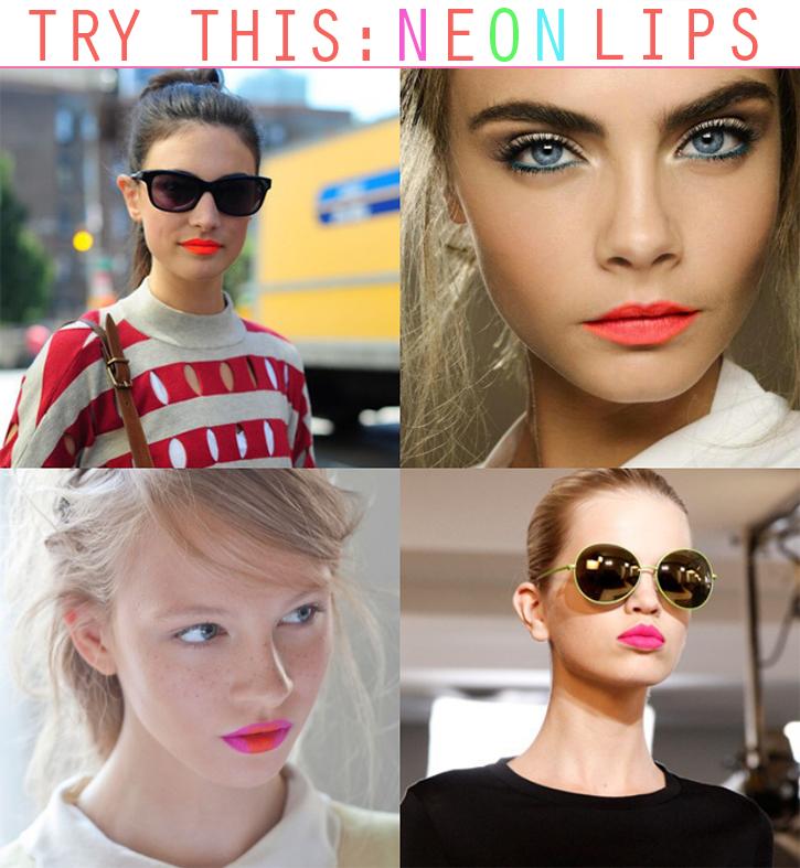 Neon-Lipstick