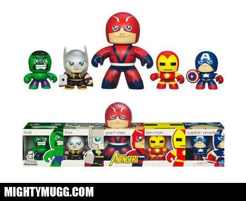 Avengers Marvel Mini Mighty Muggs
