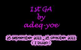1st GA by adeq-yoe