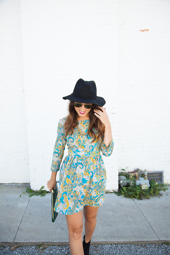 Here&Now: how to transition Summer dresses for Fall