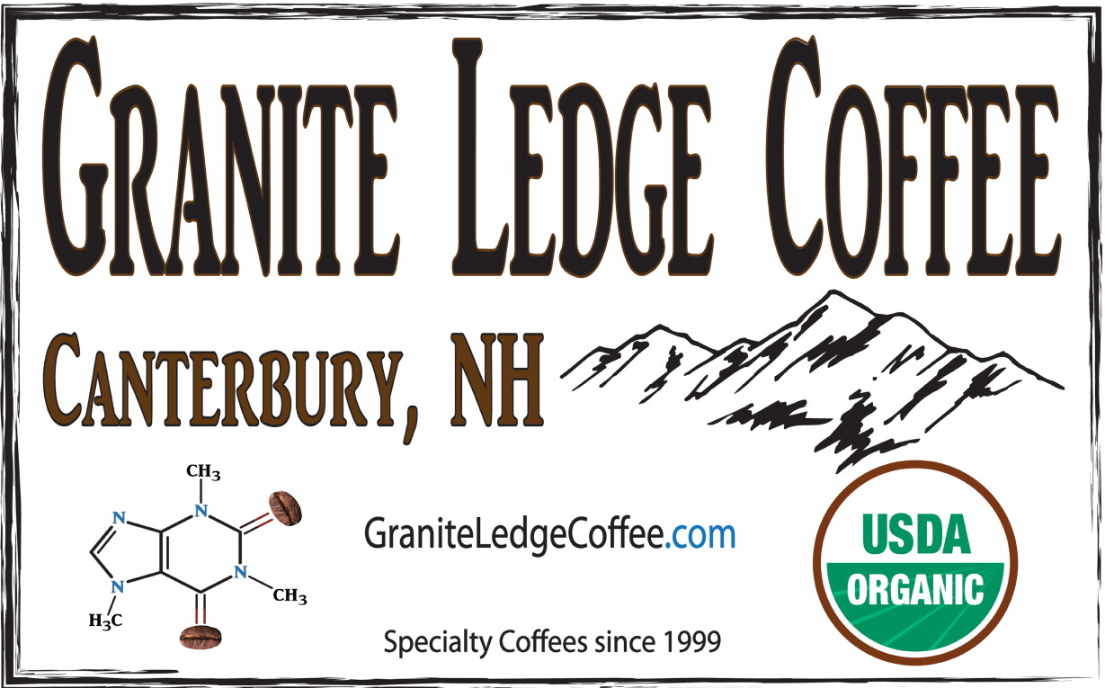 Granite Ledge Coffee Banner | Banners.com