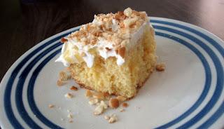 Banana Pudding Poke Cake Easy