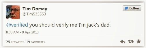 Akun Twitter orang tua Jack Dorsey