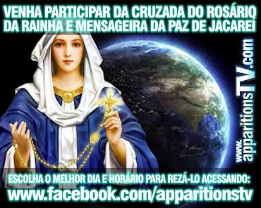 PARTICIPE DA CRUZADA DO ROSÁRIO!