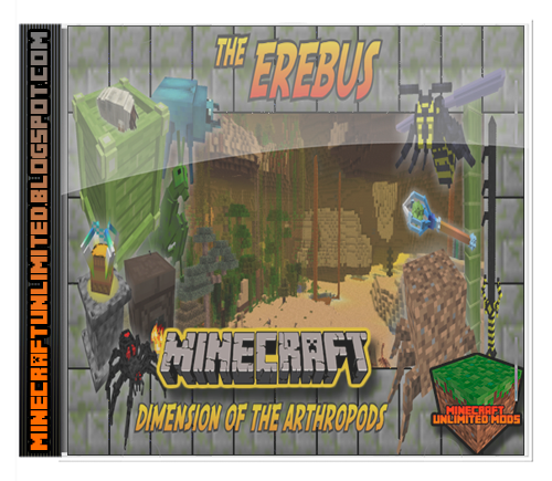 The Erebus Dimension of Arthropods Mod Minecraft