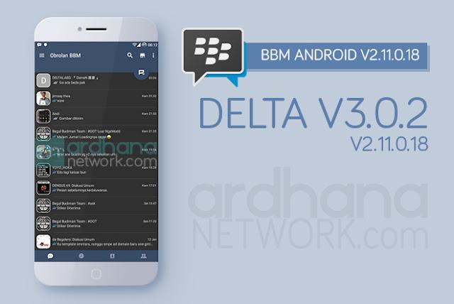 Delta BBM V3.0.2 - BBM Android V2.11.0.18