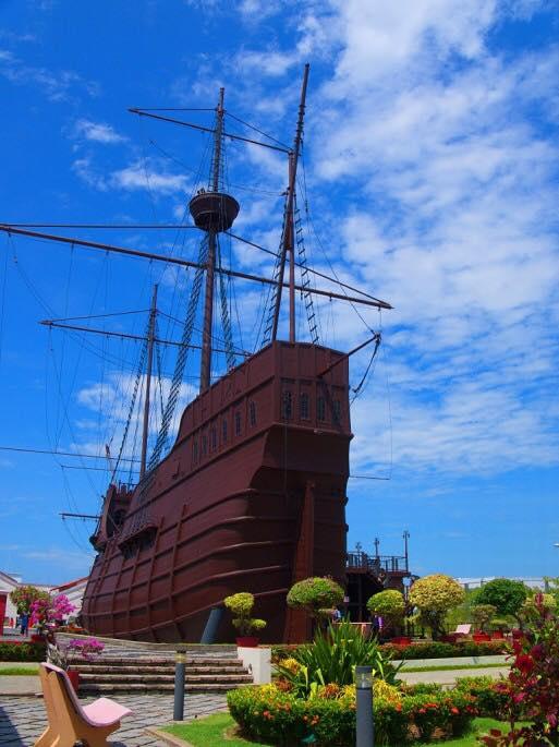 马六甲-葡萄牙船