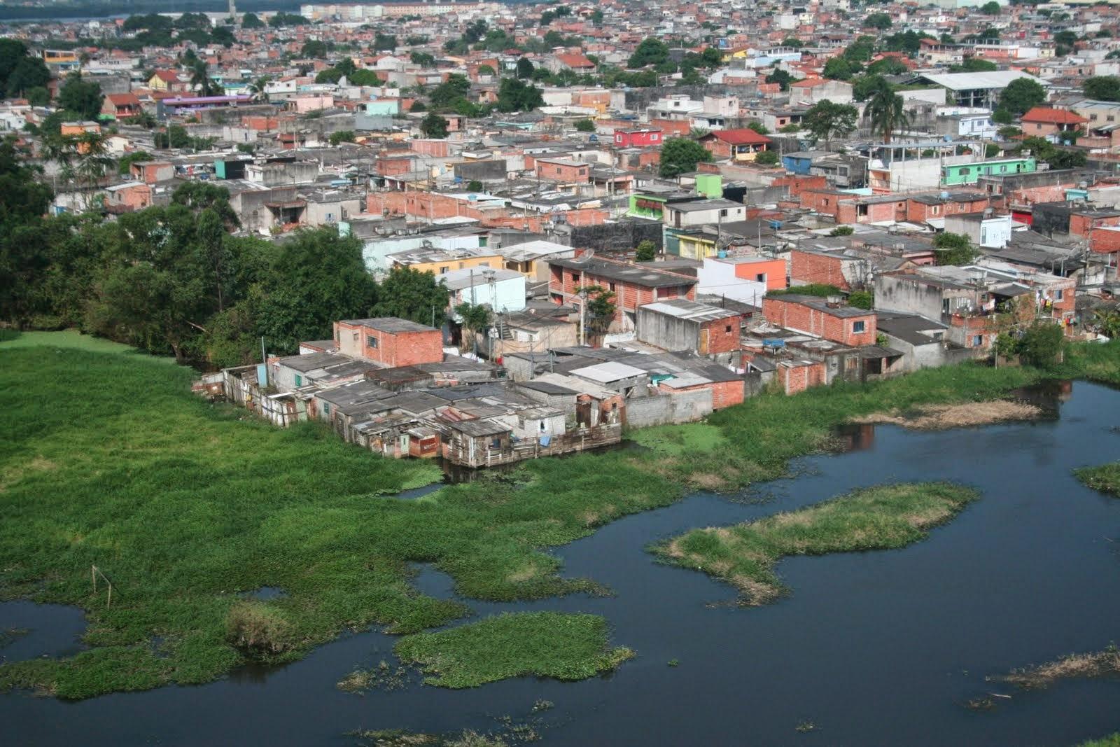 Foto Jardim Pantanal, bairro da zona leste de SP, que ocupa as