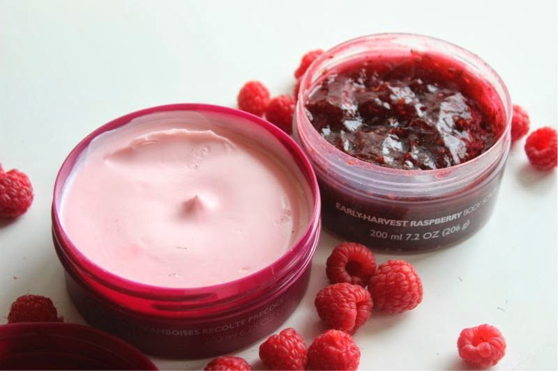 The Body Shop Early Harvest Raspberry Collection