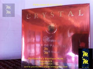 perfume crystal woman