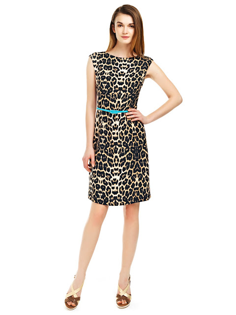 leopar desenli elbise, kısa elbise, gece elbisesi, gizli fermuarlı elbise, şifon elbise,