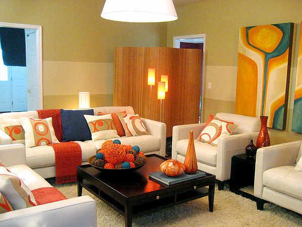 Living room color scheme