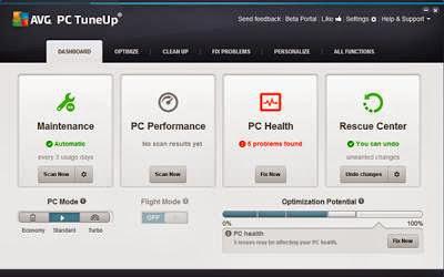 AVG PC TUNEUP 2014 v14.0.1001.174