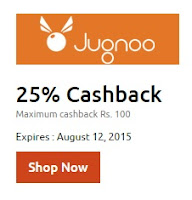 jugnoo : Groceries, Food & Book autos Flat 25% off (Max.Rs. 100)