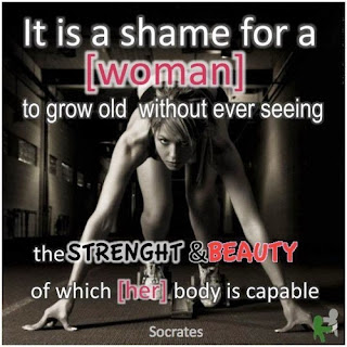 inspirational fitness quote from Pinterest
