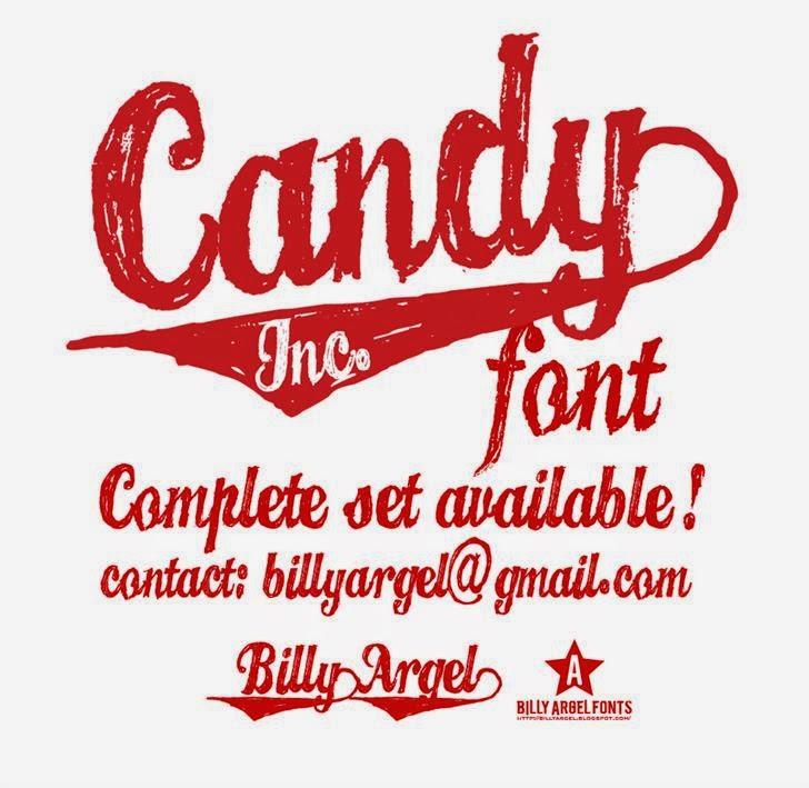 Candy INC. creative font