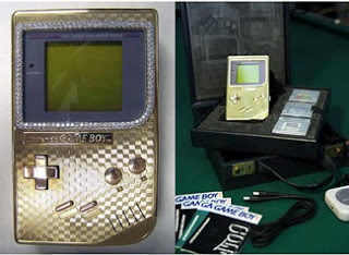 Gold Nintendo Game Boy