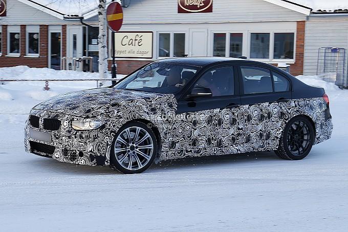 World News Cars Spyshots: New 2014 BMW M3 Snow Fun