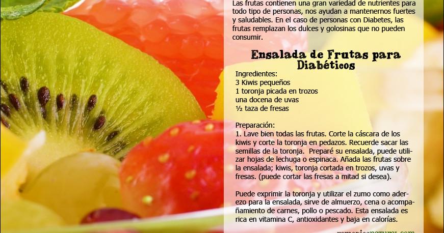 Ensalada de Frutas para Diabéticos | Remediosnatural.com