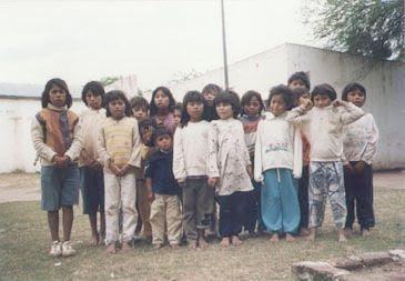 Niños apadrinados  por  A.P.A.E.R