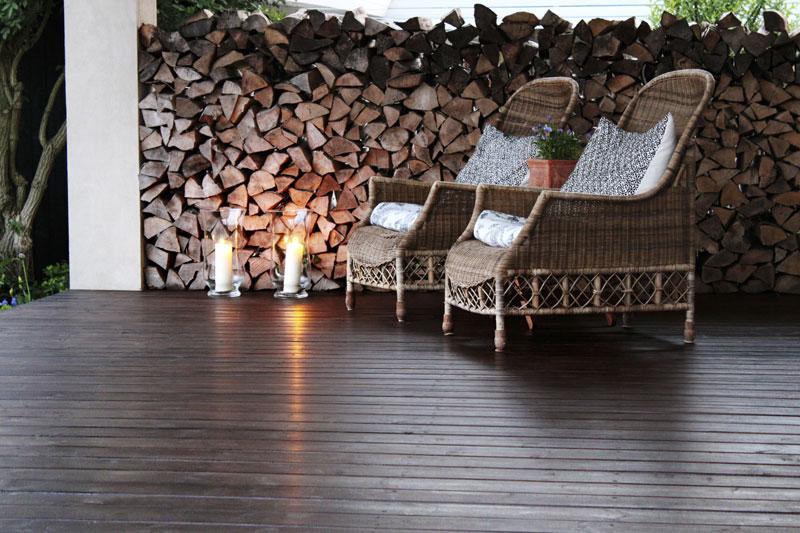 I haven hos evigglade ♥: vil du have lÆ pÅ din terrasse   i en fart?